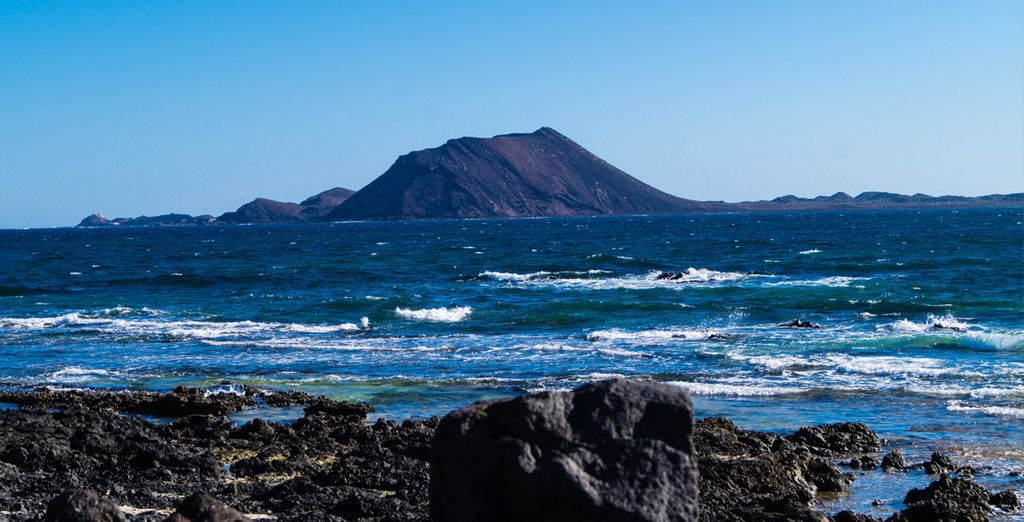 Last minute discovering of the Lobos Island, Fuerteventura