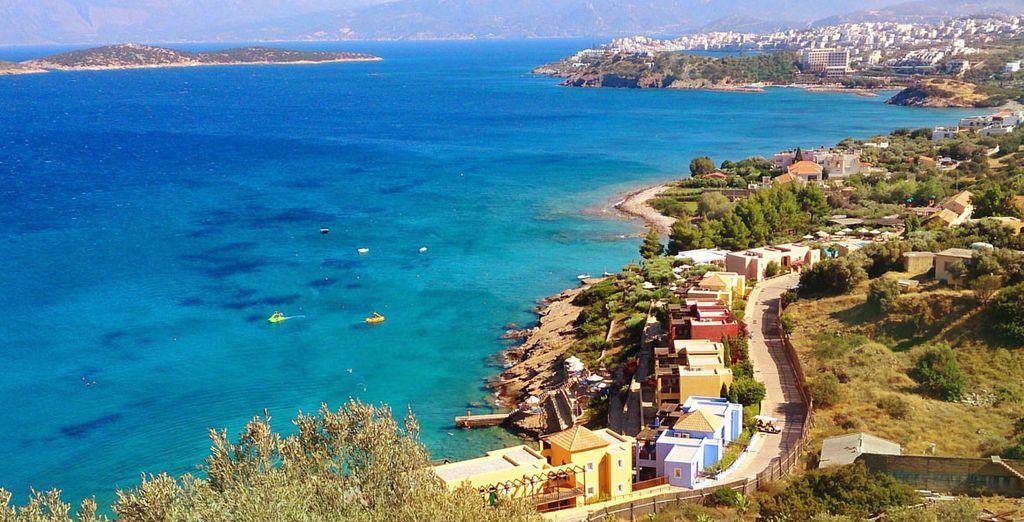 The beauty of coastal Crete is waiting!