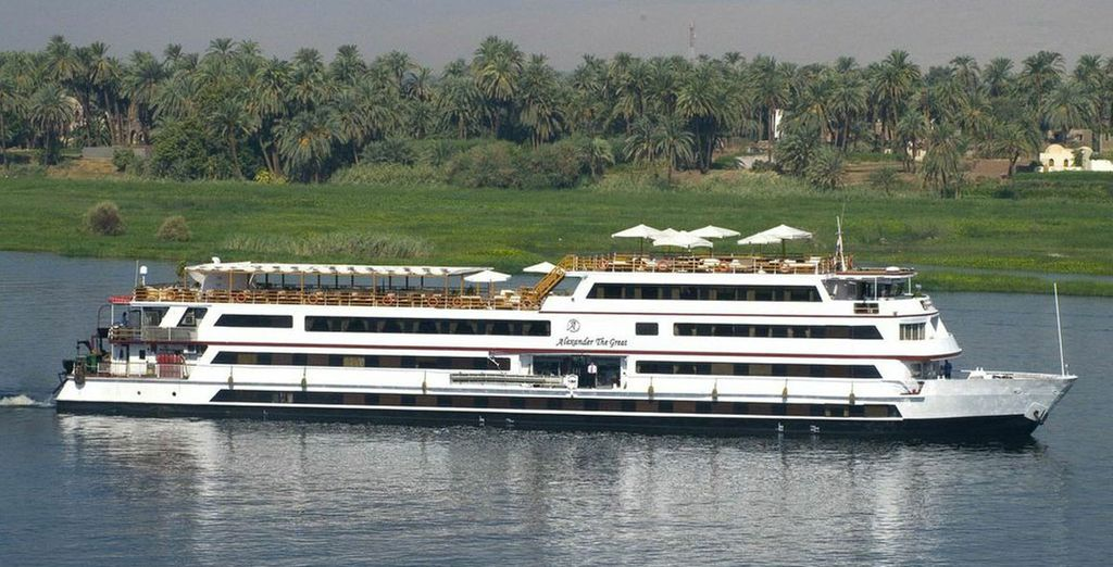 Step aboard the Alexander the Great - Alexander the Great Nile Cruise Nile River