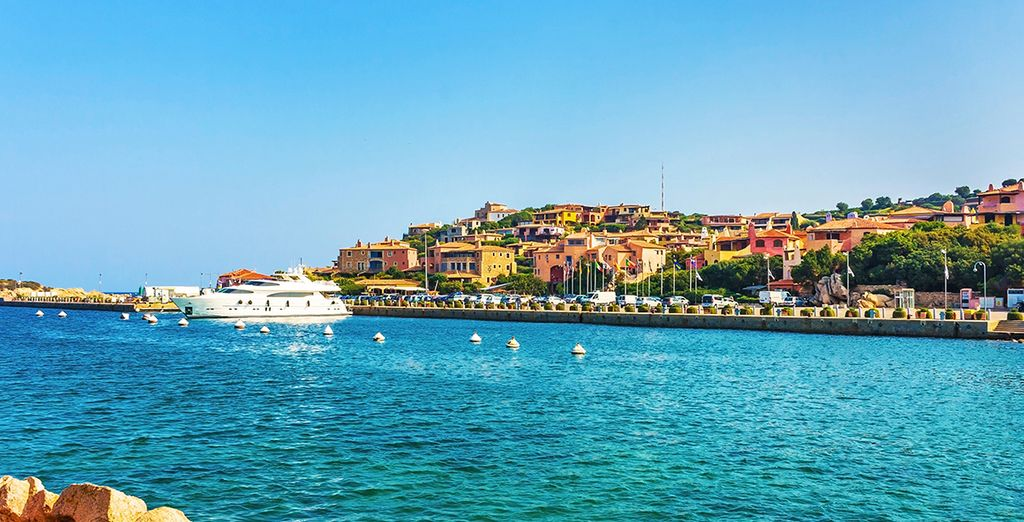 You're also just a few minutes from glamorous Porto Cervo