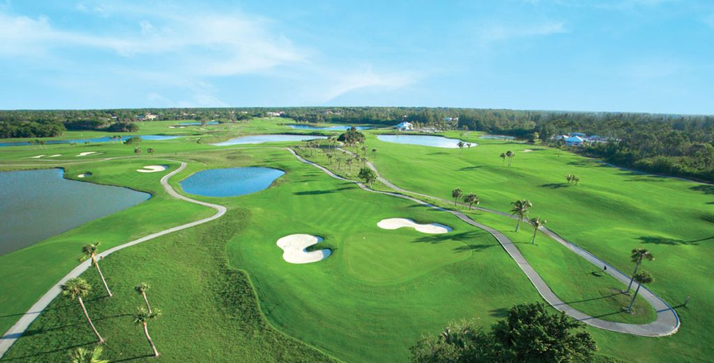 Or treat yourself to a round of golf on the extensive grounds