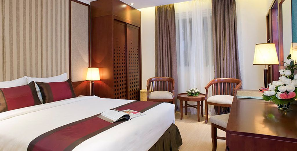 Stay at the Royal Lotus for a luxury break