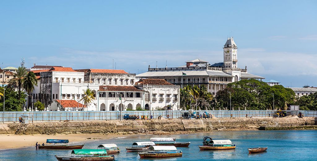 Or explore the UNESCO World Heritage site of Stone town, just an hour away