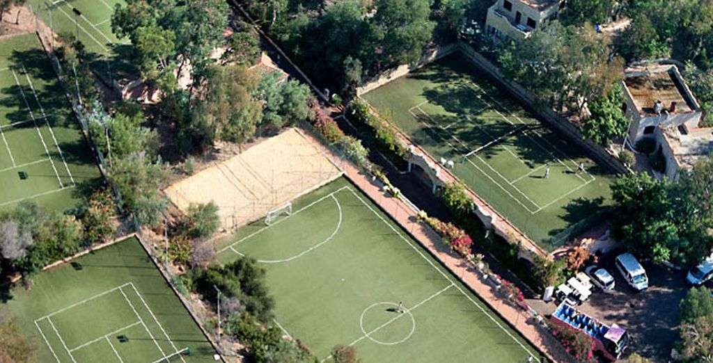 Partake in the numerous sports activities