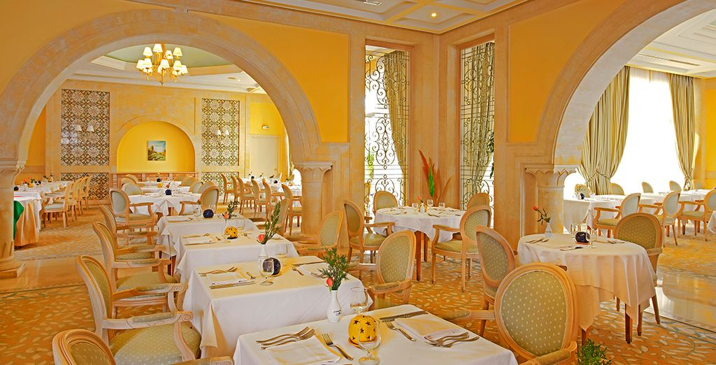 Dine on an all-inclusive basis and experience a culinary journey