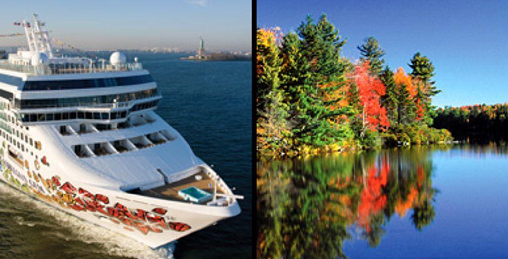 - Toronto, Niagara, New York Hotels & Norwegian Gem New England Cruise Toronto