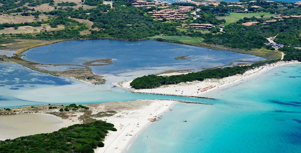 Located in the magical Sardinia