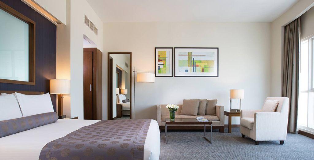 A stylish and elegant retreat