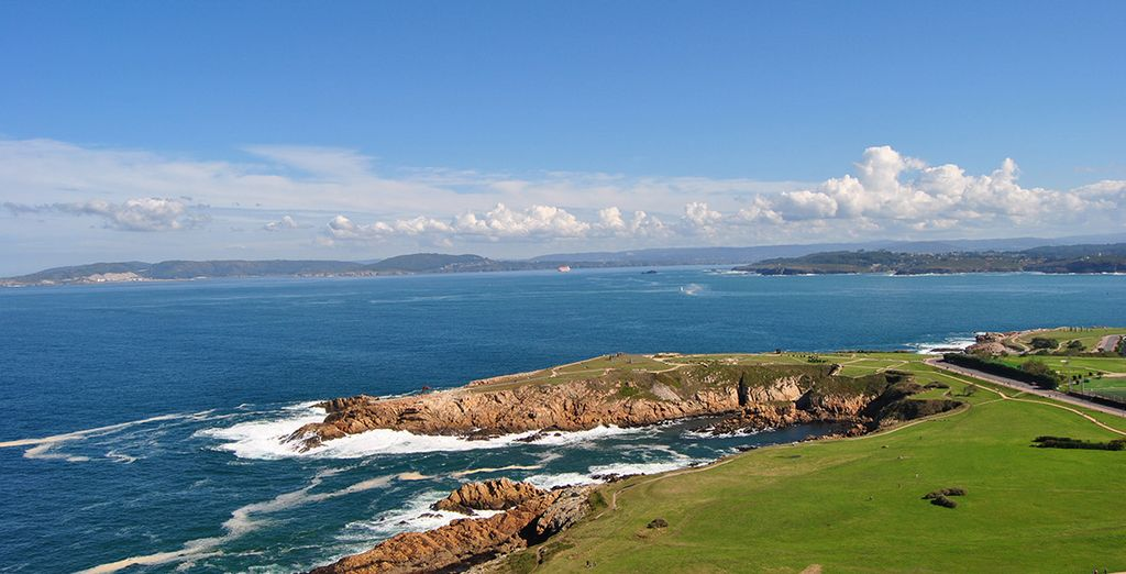 Explore A Coruña, in the north western corner of Spain