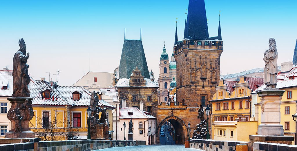 Ideally located to visit Prague