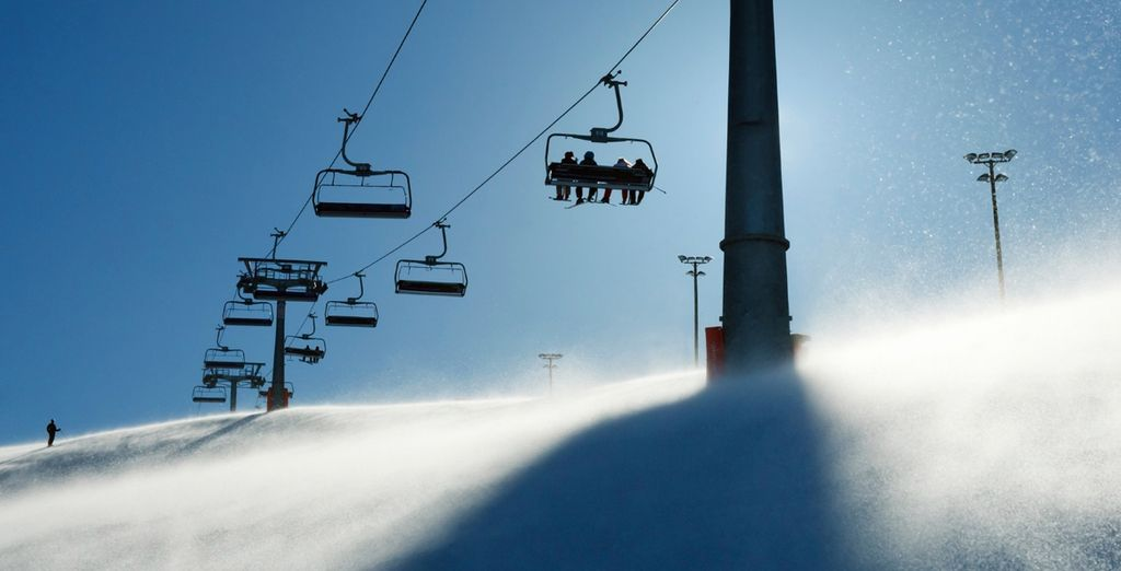 Hit the slopes, the lifts are only a 3 minute walk from the hotel