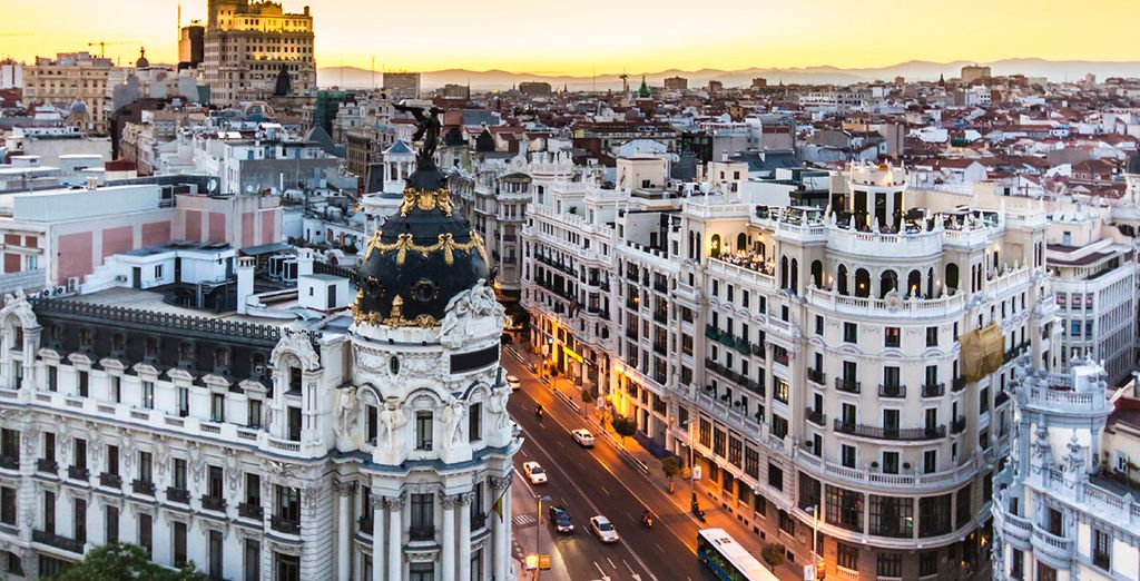 Madrid is a city brimming with beauty, world class art galleries and fantastic architecture