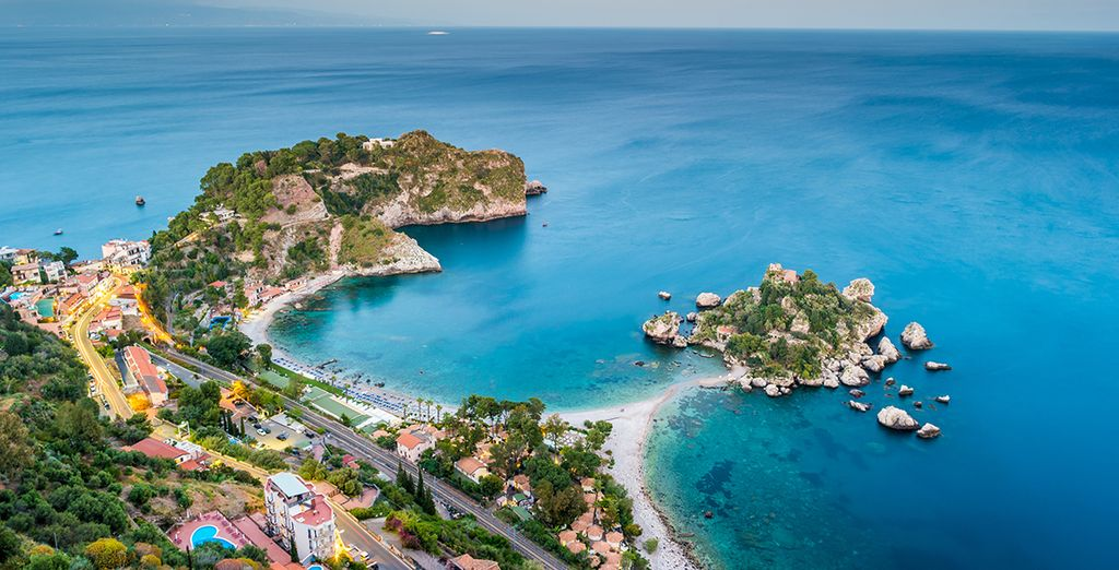 Explore Taormina's beaches and crystal clear sea...