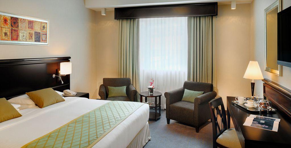 Sleep in a Classic Room at the Ramada Jumeirah for 3 nights