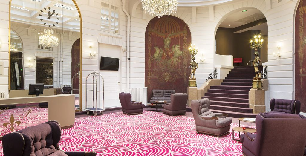 Welcome to this decadent hotel