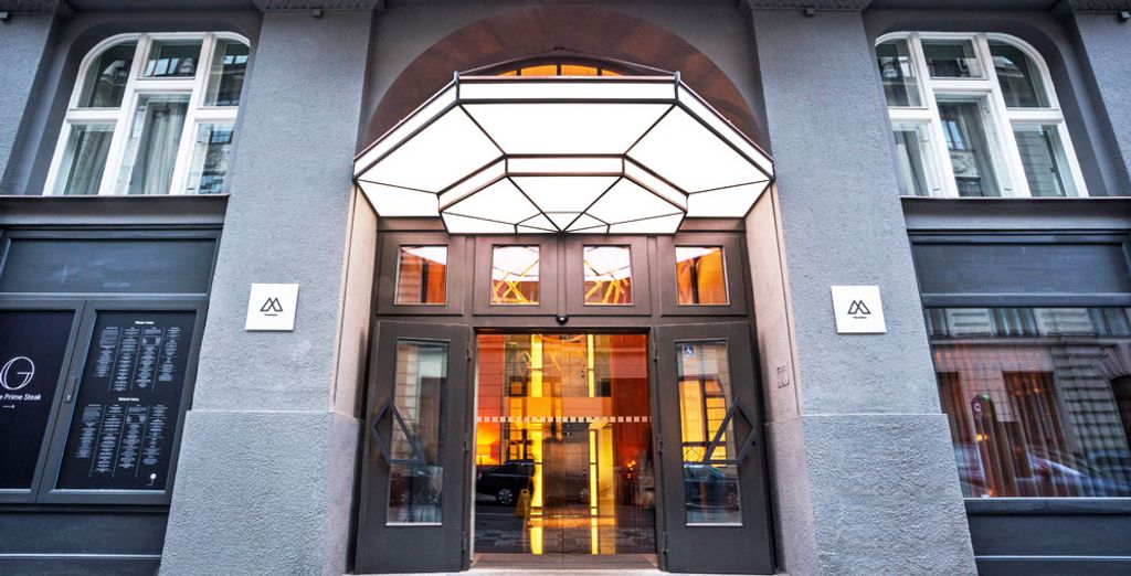 A super stylish hotel awaits