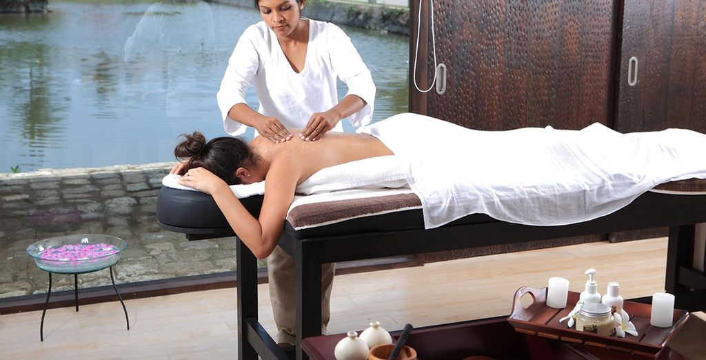 And don't forget to indulge in a massage in this excellent spa hotel