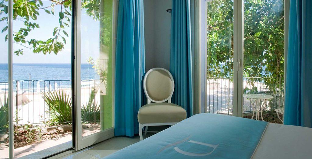 Your breezy sea villa awaits