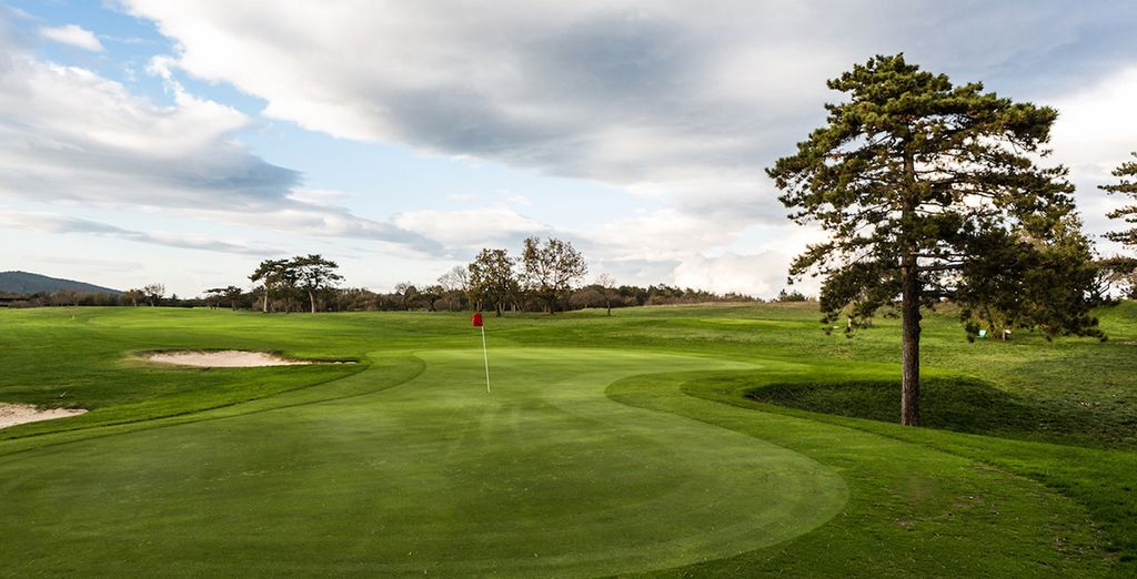 Enjoy your 30% discount on the Trieste Golf Course Green