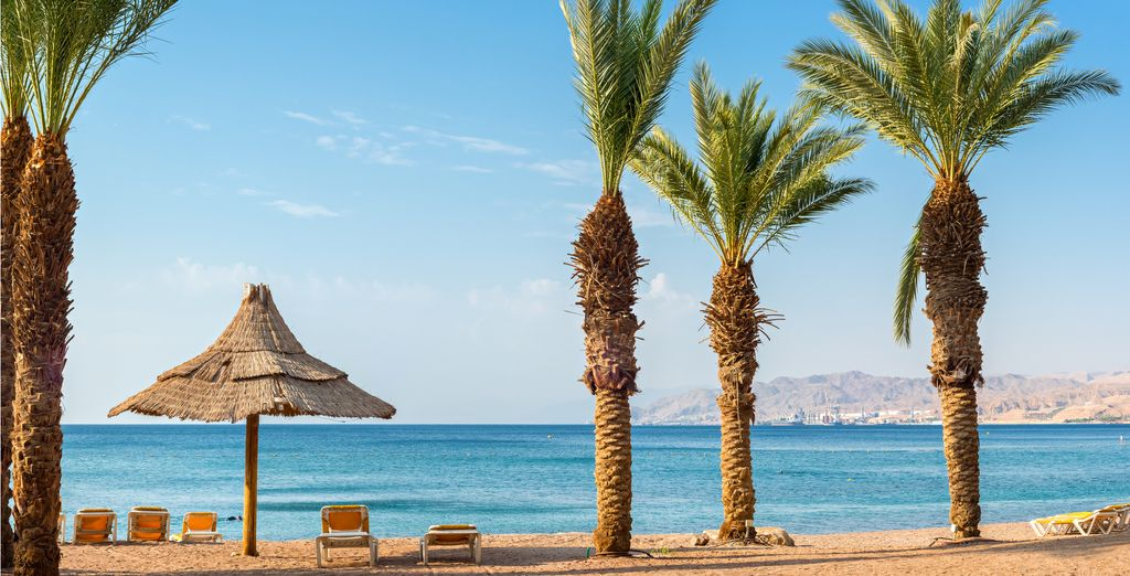 End your stay relaxing in Aqaba