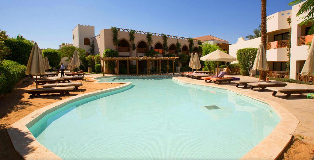 Enjoy a winter sun escape - Ghazala Gardens 4* Sharm El Sheikh