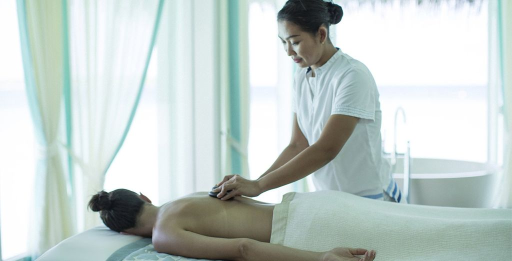 Where you can relax with a massage...