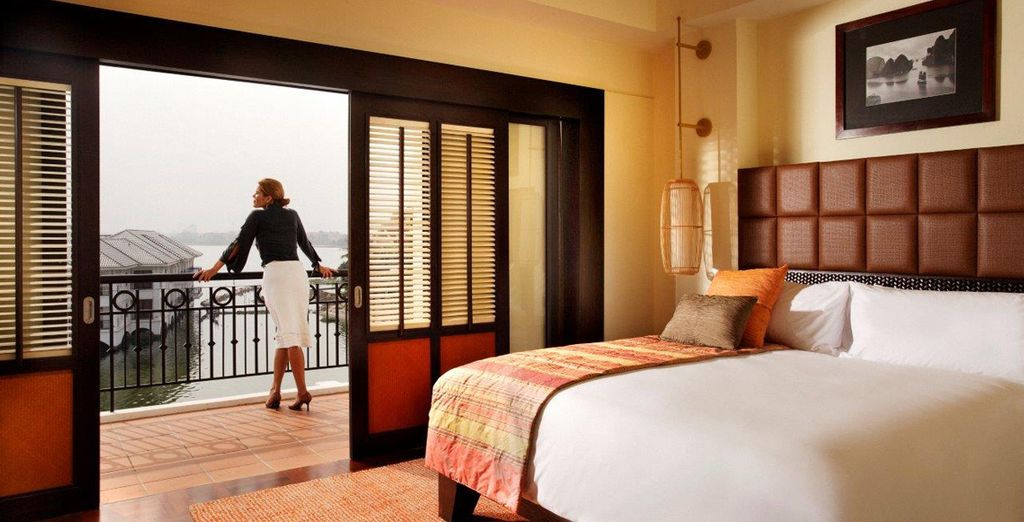 You will stay in an Overwater Panoramic View Room
