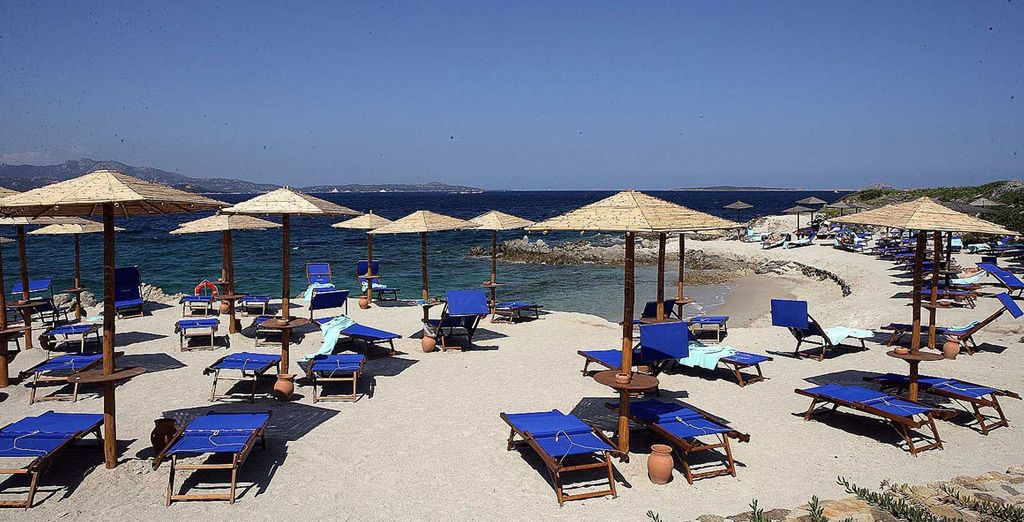A fabulous beach resort