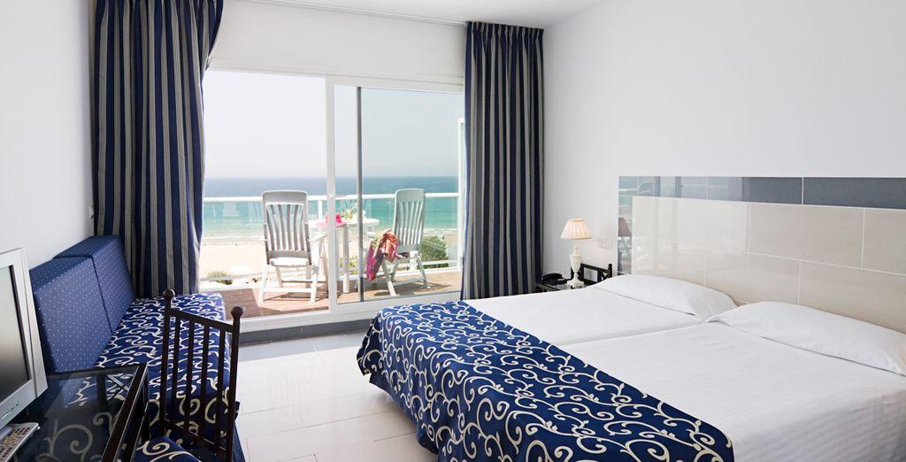 Sleep in a Sea View Room