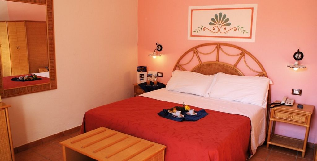 Stay in a lovely, comfortable room