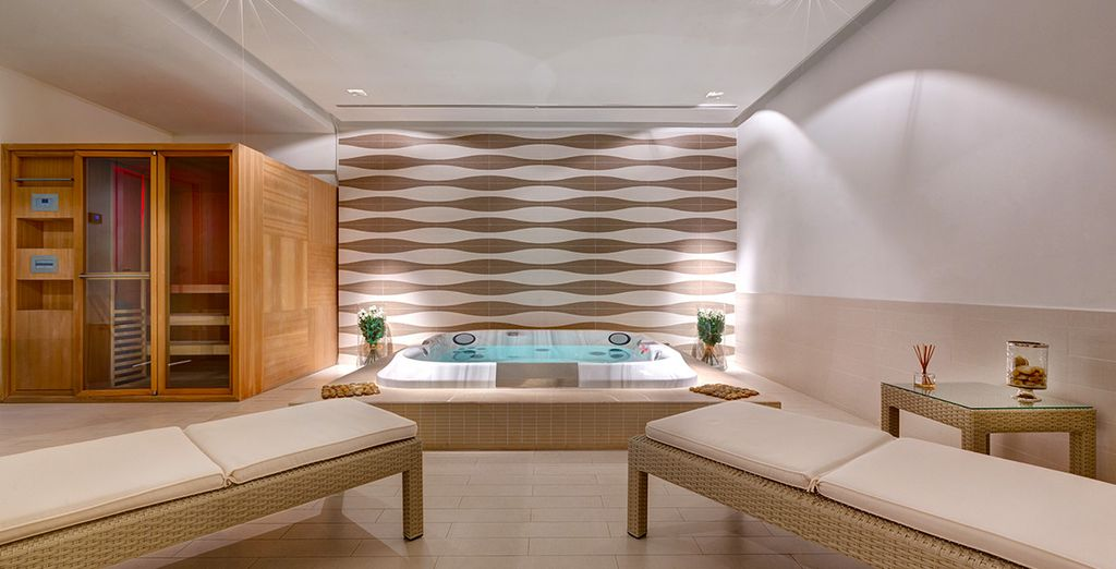Then return to the hotel for an indulgent spa treatment