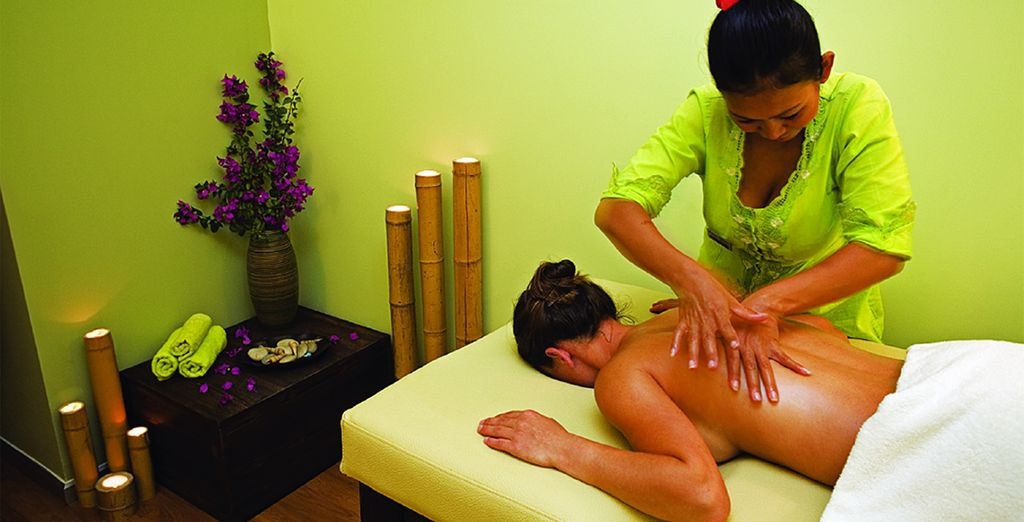 Escape the heat of the day in the spa - you have a 20% discount