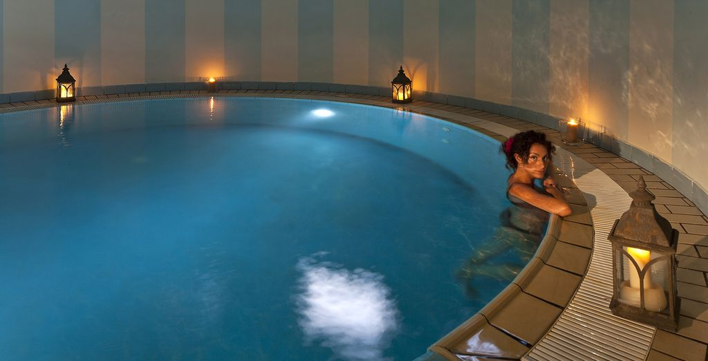 Or escape the heat of the day at the spa