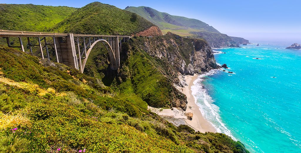 California Coast holidays