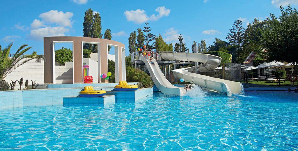 Make a splash by the pool