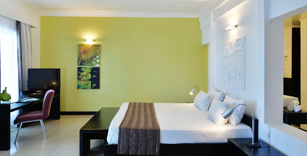Unwind in the stunning rooms