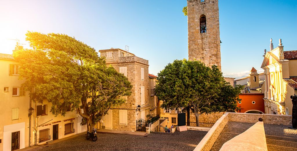 As you sail from picture perfect seaside towns, such as Antibes...