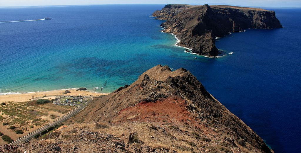 Begin with a 3 night stay on the stunning island of Porto Santo