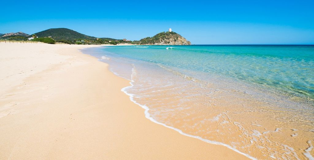 The sun-drenched beaches of Sardinia are calling