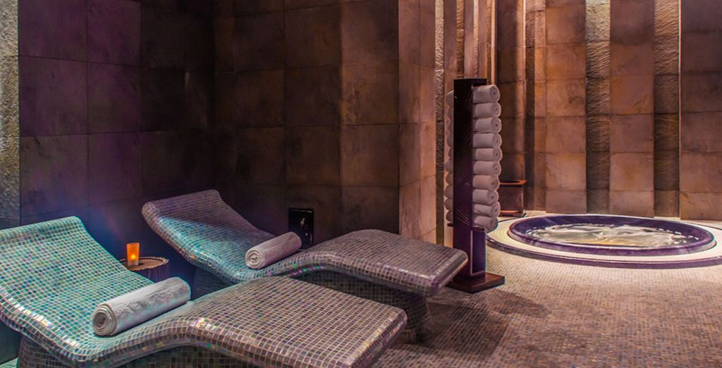 And serene spa moments