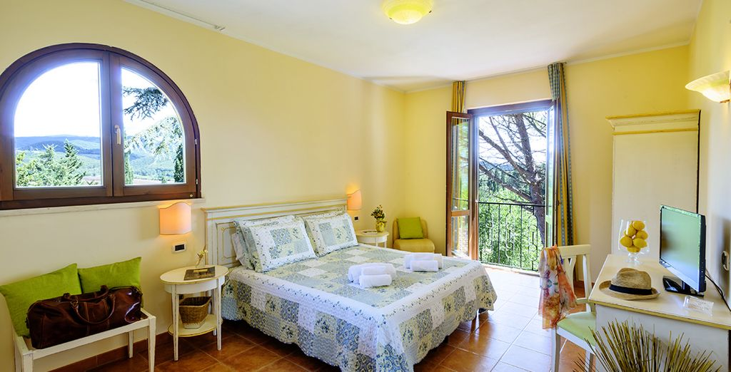 You'll stay in a charming Classic Room
