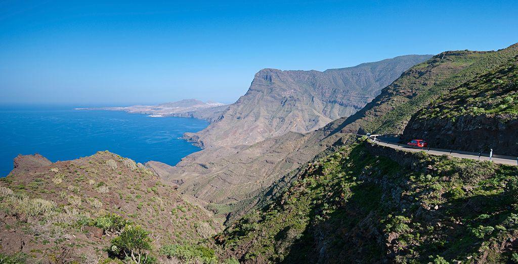 On the beautiful island of Gran Canaria