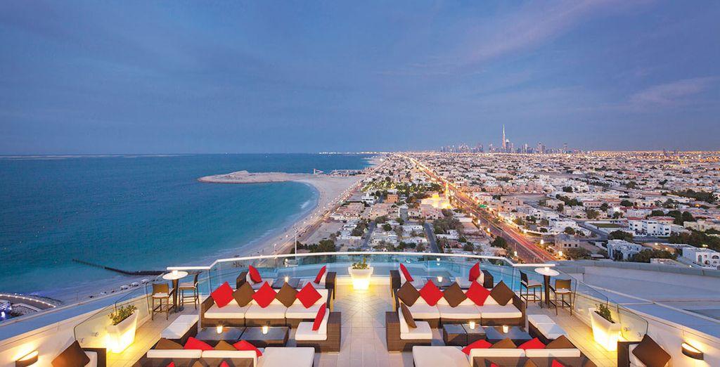 Spectacular views of the Arabian Gulf - Jumeirah Beach Hotel***** Dubai - UAE Dubai