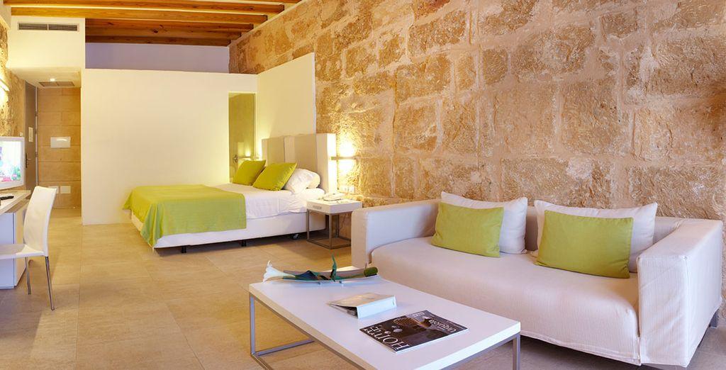 A boutique hotel in Palma de Mallorca historical town