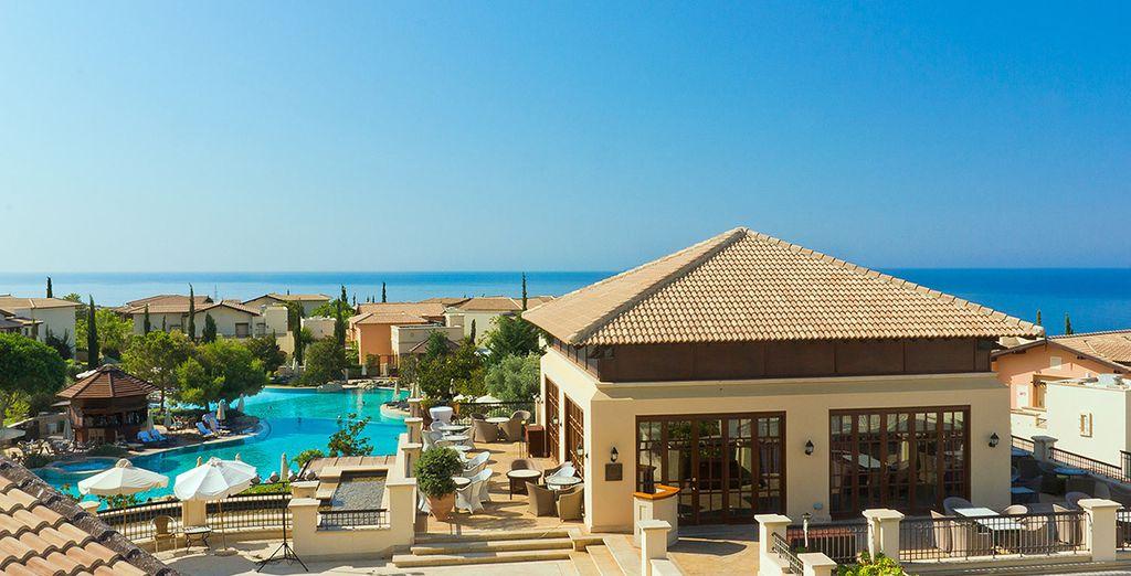 At the Intercontinental Aphrodite Hills Resort - Intercontinental Aphrodite Hills 5*  Paphos