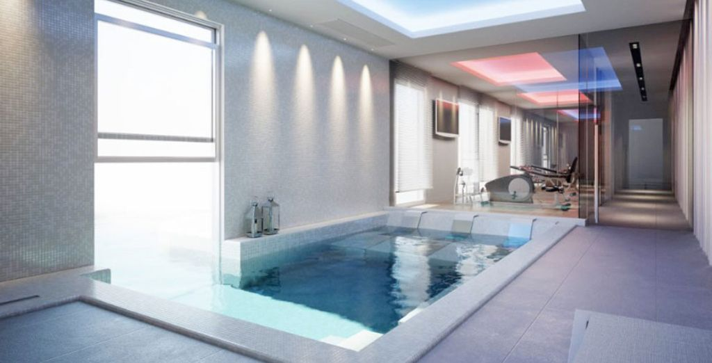 Take a dip in the glorious indoor pool