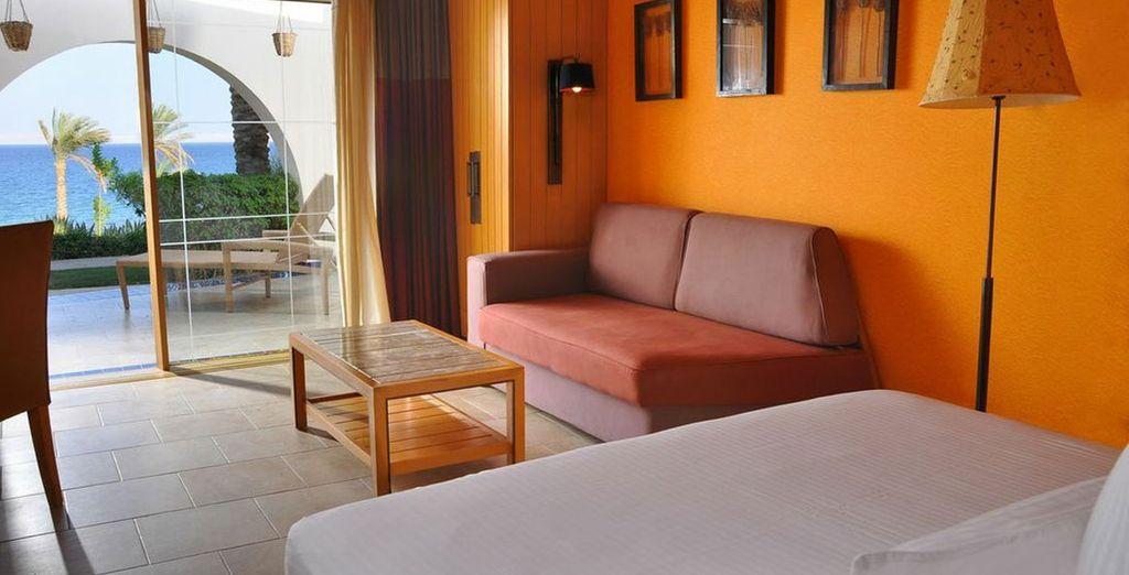 Superb rooms ensure comfort