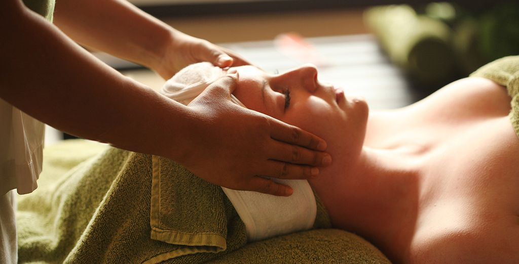 And be sure to pamper yourself at the Spa!