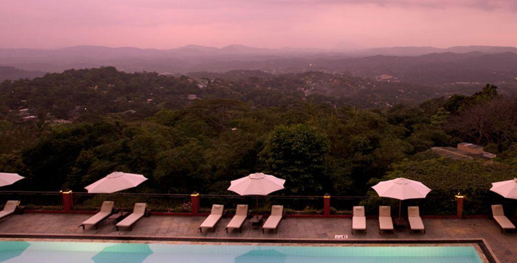 In some stunning locations (Amaya Hills)