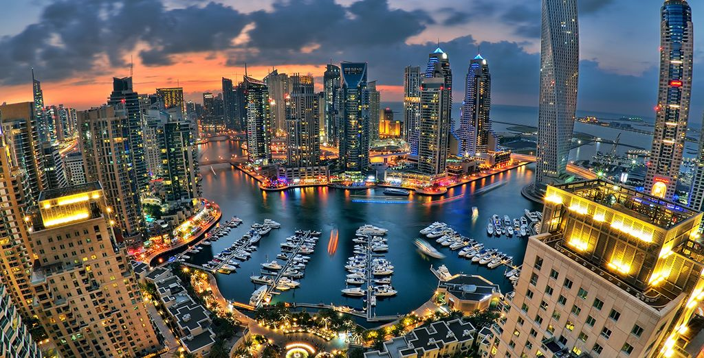 Your hotel is on the Dubai Marina so you are perfectly located to explore the city